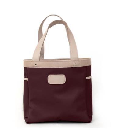 Maroon Jon Hart Left Bank Tote