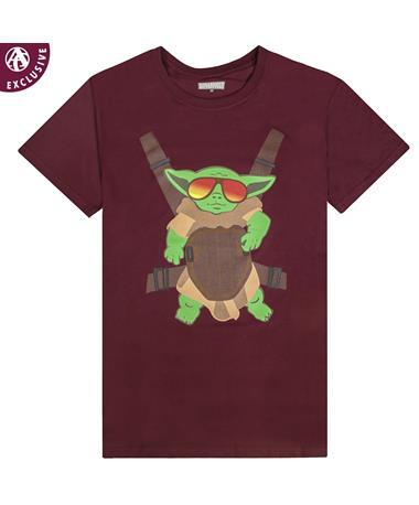 Maroon Baby Alien T-Shirt