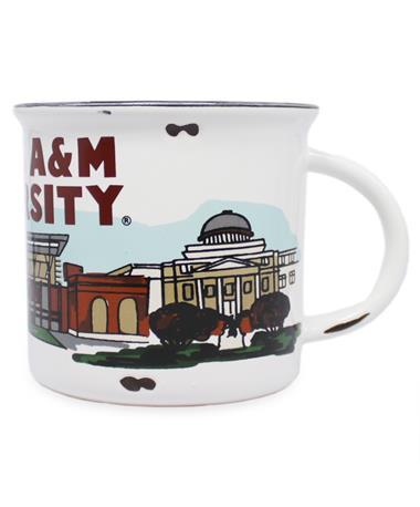Texas A&M Landmark Campfire Mug