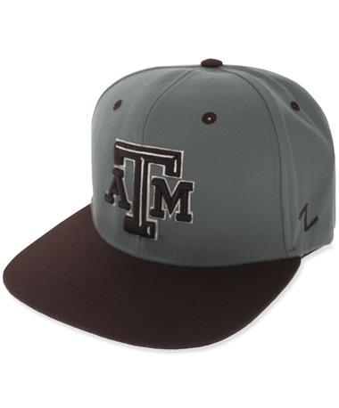 Texas A&M  Zephyr Flatbill Two Tone Adjustable Cap