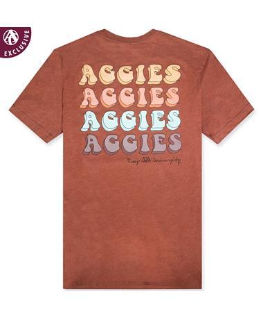 Texas A&M Four Times Aggie T-Shirt