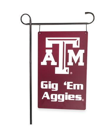 Texas A&M Garden Sign Maroon