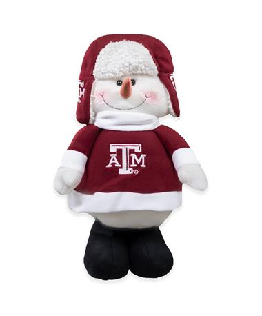 Texas A&M Chilly Snowman Mascot