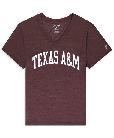Texas A&M League Women's Intramural Arched Boyfriend T-Shirt