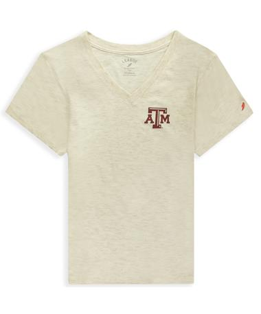 Texas A&M League Intramural Boyfriend V Neck Tee