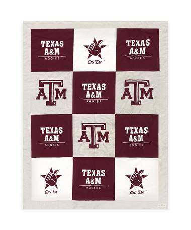 Texas A&M Aggies League Spirit Blanket