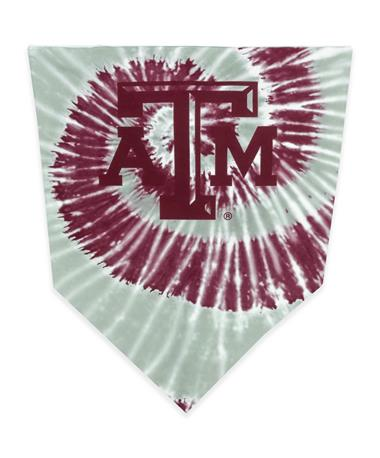 Texas A&M Tie Dye Bandana Crop