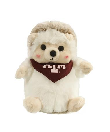 Texas A&M Bandana Cheeky Squad Hedgehog Stuffed Animal