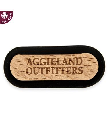 Aggieland Outfitters Exclusive Customizable Air Freshener - Front Black