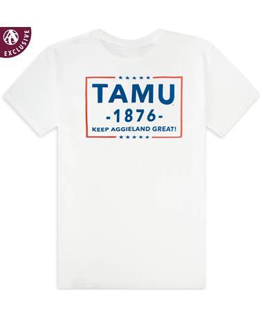 Texas A&M Keep Aggieland Great Pocket T-Shirt