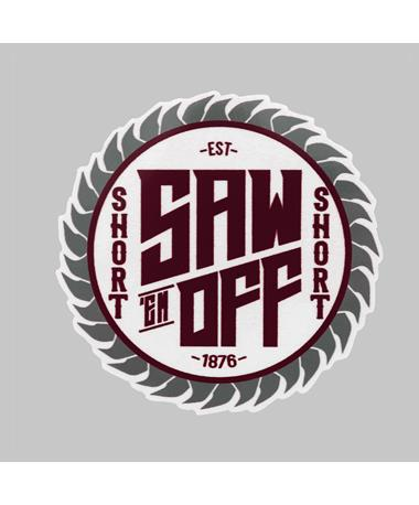 Saw 'Em Off Short Circular Saw Dizzler Sticker