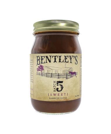 Bentley's Batch 5 Sweet BBQ Sauce