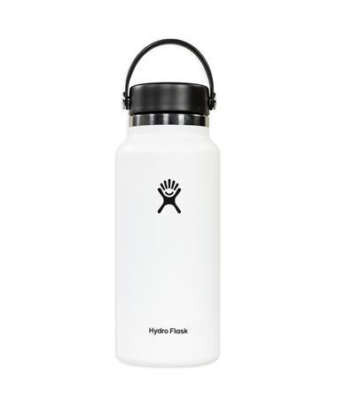 White 32oz. Wide Mouth Hydro Flask