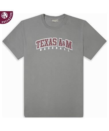 Texas A&M Stitch It Baseball T-Shirt