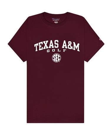 Texas A&M Champion Golf SEC T-Shirt