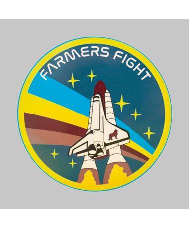 Agstronaut Farmers Fight Dizzler Sticker