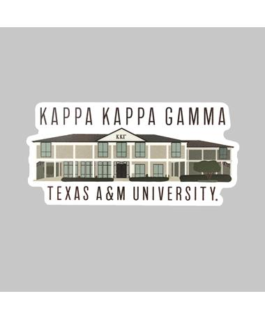 Texas A&M Kappa Kappa Gamma Dizzler Sticker