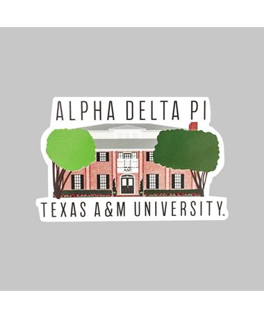 Texas A&M Alpha Delta Pi Dizzler Sticker