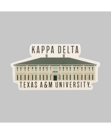 Texas A&M Kappa Delta Dizzler Sticker