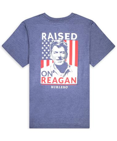 BURLEBO Raised On Reagan Pocket Tee