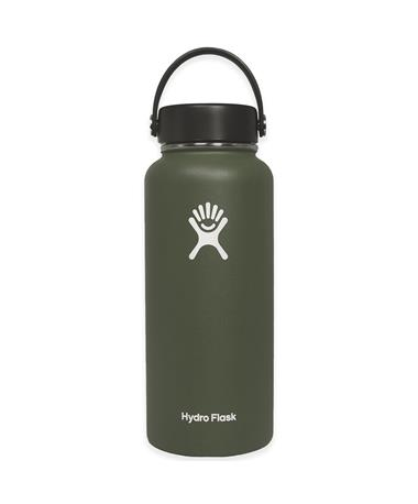Olive 32oz. Wide Mouth Hydro Flask