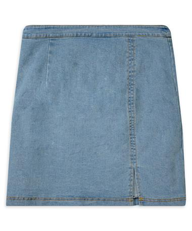 Women's Light Denim Skirt