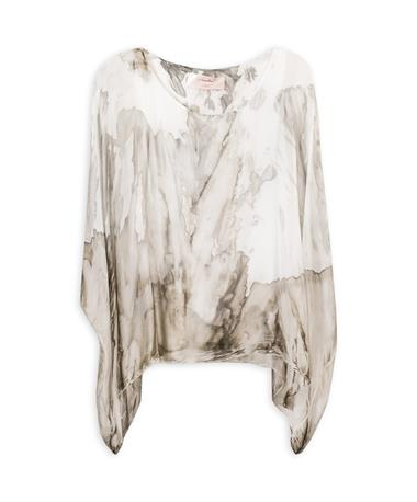 Marbled Bat Sleeve Top