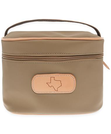 Jon Hart Texas Make Up Case - Brown - Front Brown