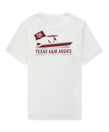 Texas A&M Southern Tide Coastal Tailgate Pocket T-Shirt