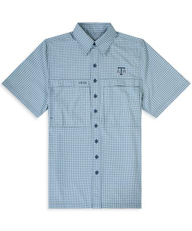 Texas A&M GameGuard Seaglass Men's TekCheck Shirt