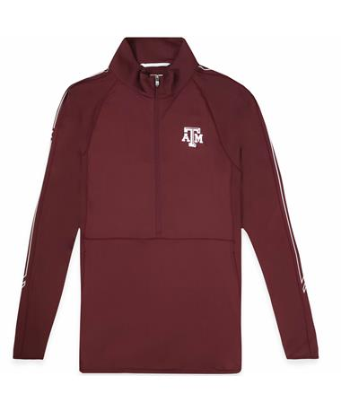 Texas A&M Cutter & Buck Pennant Sport Half Zip