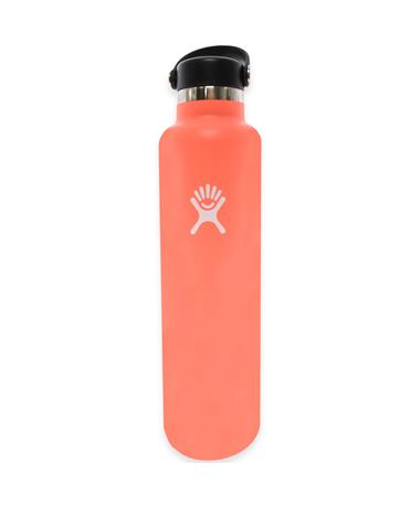 Hibiscus 24oz. Hydro Flask - Front Hibiscus