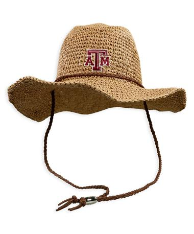 Texas A&M Sahara Crushable Cowboy Hat
