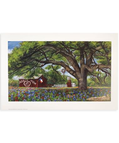 Texas A&M Benjamin Knox Aggie Mom Barn Print
