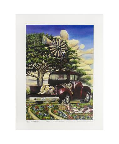 Texas A&M Benjamin Knox Aggie Truck Print