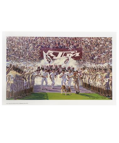 Texas A&M Benjamin Knox Into The SEC Limited Edition Print MULTI