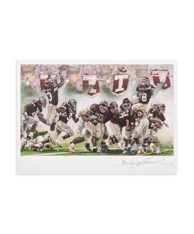 Texas A&M Benjamin Knox Texas Aggies Score Single Note Card - Front MULTI