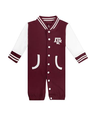 Texas A&M Infant Varsity Convertible Romper