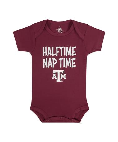 Texas A&M Halftime Nap Time Onesie