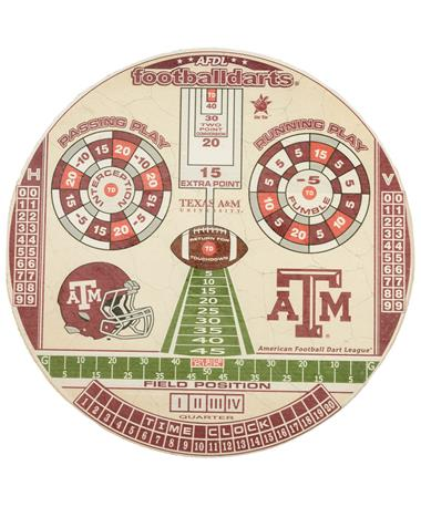 Texas A&M Championship Bristle Dartboard