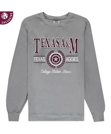 Texas A&M Olive Branch Sweatshirt