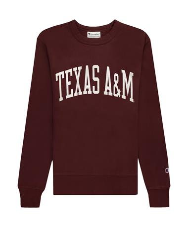 Texas A&M Champion Reverse Weave Crewneck