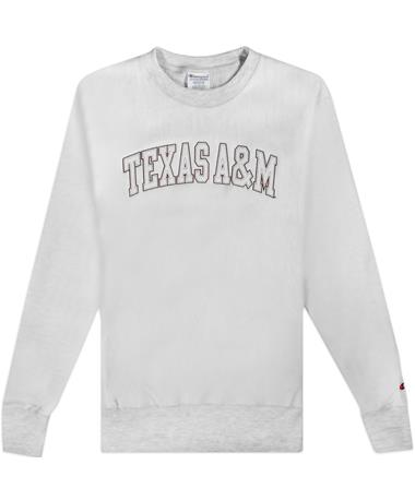 Texas A&M Champion Reverse Weave Crewneck