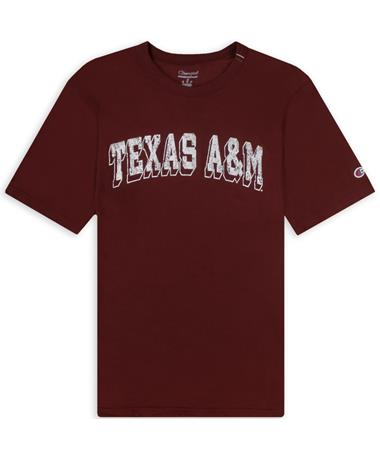 Texas A&M Champion Rochester Slub T-Shirt