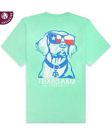 Texas A&M Chillin Texas Dog Pocket Tee