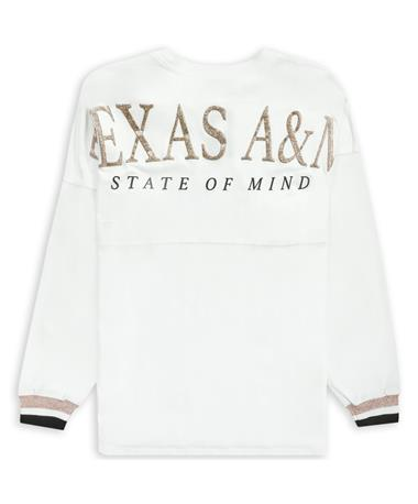 Texas A&M State of Mind White & Gold Spirit Jersey
