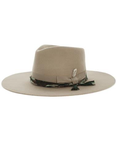 Wyeth Allegra Taupe Rodeo Fashion Cowgirl Hat