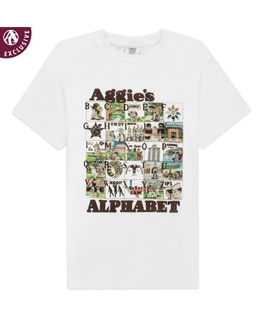 Texas A&M Aggie Alphabet T-Shirt