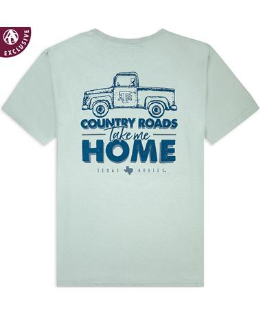 Texas A&M Aggies Country Roads T-Shirt