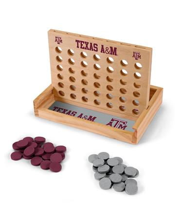 Texas A&M Table Top 4-In-A-Row Game